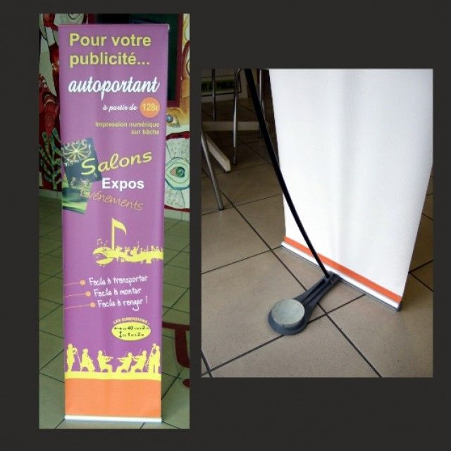 Autoportant / Roll up